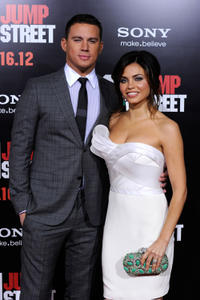 Channing Tatum and Jenna Dewan-Tatum at the California premiere of
