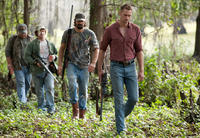 Drew Powell as Bic, Billy Lush as Chris, Rhys Coiro as Norman and Alexander Skarsgard as Charlie in