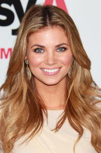 Amber Lancaster at the California premiere of