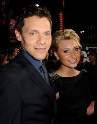 Director/producer Will Gluck and Aly Michalka at the California premiere of