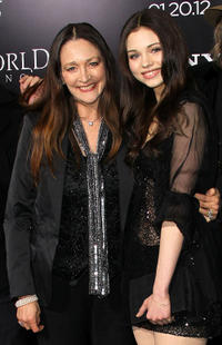 India Eisley and Guest at the California premiere of