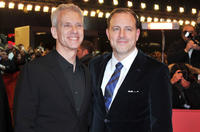 Directors Chris Sanders and Kirk De Micco at the Germany premiere of