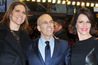 Producer Jane Hartwell, DreamWorks CEO Jefrey Katzenberg and producer Kristine Belson at the Germany premiere of