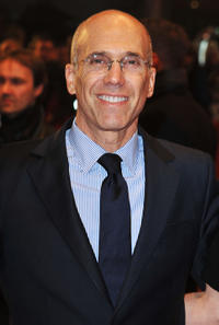 DreamWorks CEO Jefrey Katzenberg at the Germany premiere of