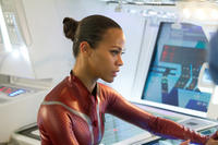 Zoe Saldana as Uhura in