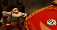 Grandsanta voiced by Bill Nighy in