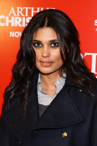 Designer Rachel Roy at the New York premiere of