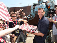 Hugh Jackman at the Comic Con 2011 of