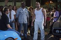Paul Walker, Tyrese and Vin Diesel in