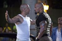 Vin Diesel and Dwayne Johnson in