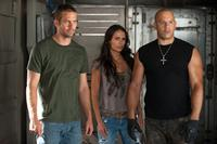 Paul Walker, Jordana Brewster and Vin Diesel in