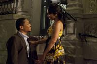 Khalil Kain as Bill and Anika Noni Rose as Yasmine in