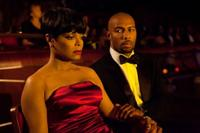 Janet Jackson as Jo and Omari Hardwick as Carl in