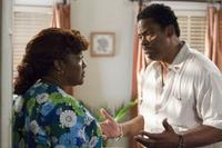 Loretta Devine as Juanita and Richard Lawson as Frank in