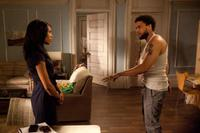 Kerry Washington as Kelly and Michael Ealy as Beau Willie in