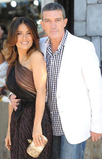 Salma Hayek and Antonio Banderas at the California premiere of