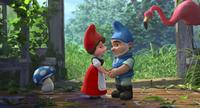 Shroom, Juliet, Gnomeo and Featherstone in