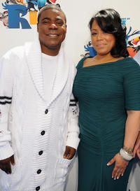Tracy Morgan and Guest at the California premiere of