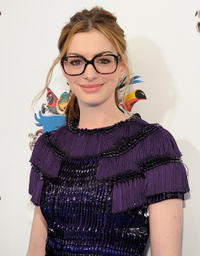 Anne Hathaway at the California premiere of