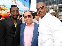 Will.I.Am, Sergio Mendes and Jamie Foxx at the California premiere of