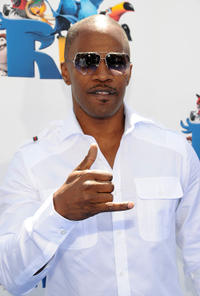 Jamie Foxx at the California premiere of