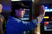 Director Brad Bird on the set of