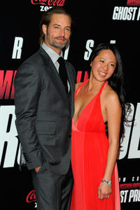 Josh Holloway and Guest at the New York premiere of