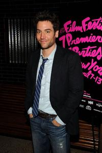 Josh Radnor at the after party of the New York premiere of
