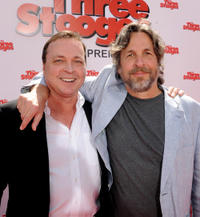 Directors Bobby Farrelly and director Peter Farrelly at the California premiere of