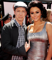 Sean Hayes and Jennifer 'JWOWW' Farley at the California premiere of