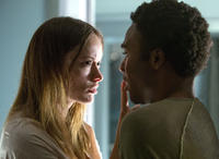 Olivia Wilde and Donald Glover in