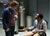 Evan Peters and Donald Glover in