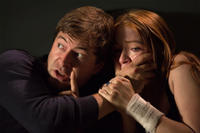 Mark Duplass and Sarah Bolger in
