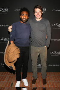 Donald Glover and Jason Blum at the California special screening of