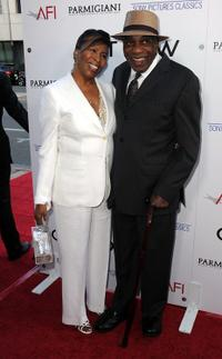 Carolyn Cobbs and Bill Cobbs at the California premiere of