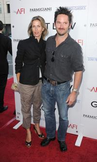 Scott Cooper and Guest at the California premiere of