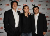 Producer Peter Safran, director Rodrigo Cortes and producer Adrian Guerra at the Canada premiere of