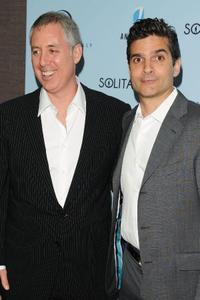 Brian Koppelman and David Levien at the New York premiere of