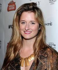 Grace Gummer at the California premiere of