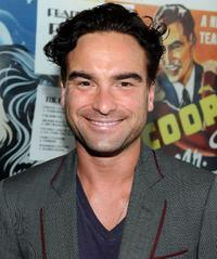 Johnny Galecki at the California premiere of