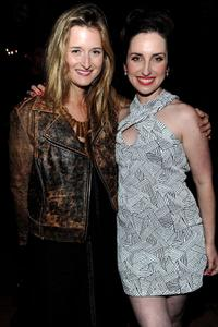 Grace Gummer and Zoe Lister-Jones at the after party of the California premiere of