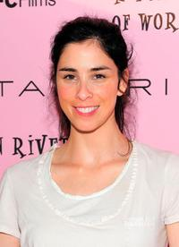 Sarah Silverman at the New York premiere of