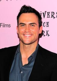 Cheyenne Jackson at the New York premiere of