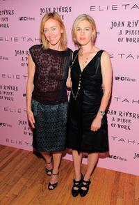 Annie Sundberg and Ricki Stern at the New York premiere of