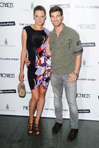 Bekah Jenkins and Cory Bond at the New York premiere of