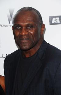 Harry Carson at the New York premiere of