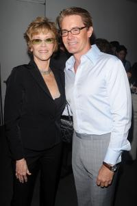 Jane Fonda and Kyle Maclachlan at the New York premiere of