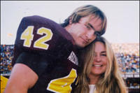 Pat Tillman and his mother Mary Tillman.