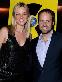 Amy Smart and Jeff Skoll at the California premiere of