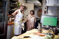Naseeruddin Shah and Madhur Jaffrey in